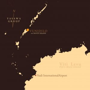 Vunidilo Viti Levu map
